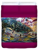 The Moors Of Mu And Ancient America Duvet Cover