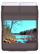The Moose River At Lyonsdale Duvet Cover