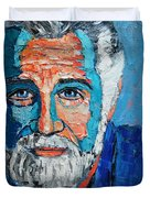 The Most Interesting Man In The World Duvet Cover