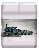 The Most Northern Train? Duvet Cover by James Billings