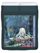 The Mother Of Sonia Gramatte By Walter Gramatte Duvet Cover