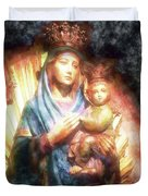 The Mother Of The King Is Queen Duvet Cover