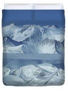 The Mount Vinson Massif 16, 059 Duvet Cover
