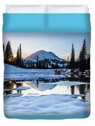 The Mountain Is Calling Duvet Cover