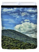 The Mountain Meets The Sky Duvet Cover