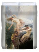 The Mountain Mists Duvet Cover