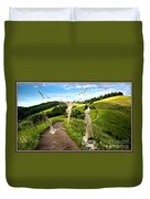 The Mountain Road  1 Duvet Cover
