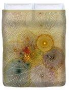 The Mourning Of Persephone - Fractal Art Duvet Cover