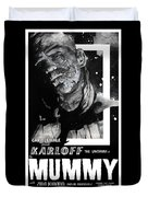 The Mummy 1932 Movie Poster  Duvet Cover