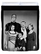 The Munster Family Portrait Duvet Cover