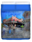 The Muriel's Of Jackson Square  Duvet Cover
