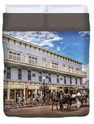 The Murray Hotel At Mackinac Island Duvet Cover
