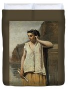 The Muse. History Duvet Cover