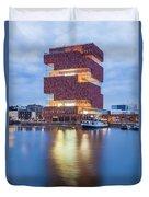 The Museum Aan De Stroom Duvet Cover