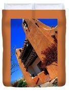 The Museum Of Art In Santa Fe Duvet Cover