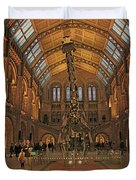 The Museum Of Natural History... London Duvet Cover
