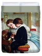The Music Lesson Duvet Cover