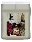 The Music Room Duvet Cover