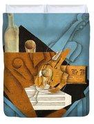 The Musician's Table Duvet Cover