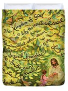 The Mustard Seed Duvet Cover