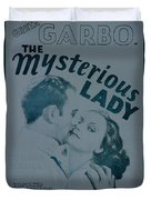 The Mysterious Lady Duvet Cover
