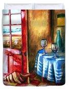 The Mystery Room Duvet Cover