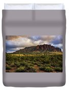 The Mystical Beauty Of The Superstitions  Duvet Cover