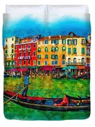 The Mystique Of Italy Duvet Cover