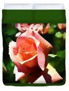 The Name Of A Rose Is Beauty Duvet Cover