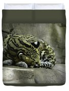The Napping Rock Duvet Cover