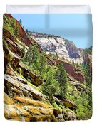 The Narrows Study 1 Duvet Cover