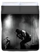 The National Performing At Hyde Park London Duvet Cover
