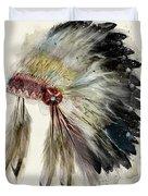 The Native Headdress Duvet Cover