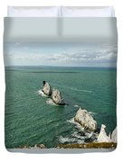 The Needles - Isle Of Wight Duvet Cover