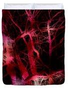 The Neural Network Of Trees Duvet Cover