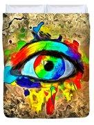 The New Eye Of Horus Duvet Cover