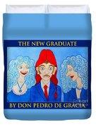 The New Graduate Duvet Cover