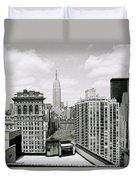 The New York Skyline Duvet Cover