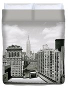 The New York Skyline Duvet Cover