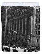 The New York Stock Exchange Duvet Cover