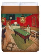 The Night Cafe In Arles Duvet Cover