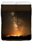 The Night Heaven Struck The Earth Duvet Cover