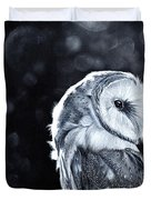 The Night Watcher Duvet Cover