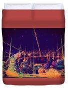 The Nightmare Carousel 22 Duvet Cover