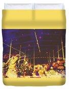 The Nightmare Carousel 7 Duvet Cover