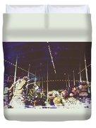 The Nightmare Carousel 8 Duvet Cover