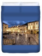 The Nights Of Dubrovnik Duvet Cover