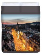 The Nights Of Sarajevo Duvet Cover