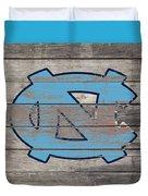The North Carolina Tarheels 3b  Duvet Cover