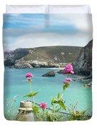 The North Cornwall Coast Duvet Cover